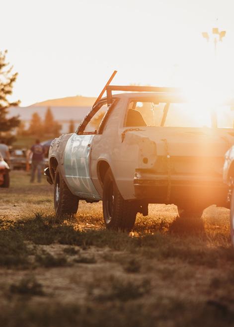 Wyoming State Fair Demolition Derby
