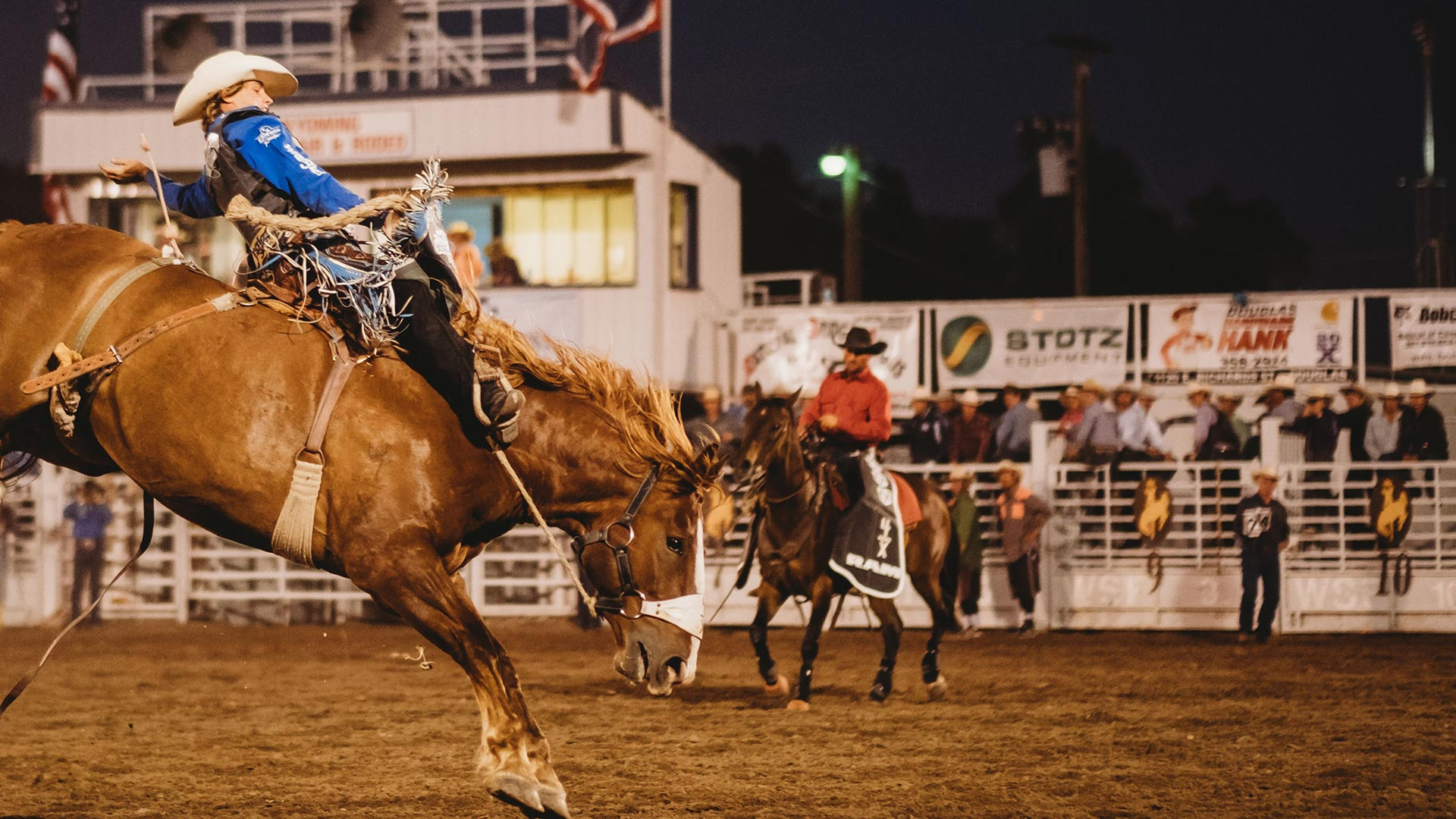 PRCA Rodeo & WY State Championship Ranch Rodeo - Presented by Wyoming Machinery Company