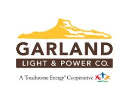 Garland Light and Power Logo